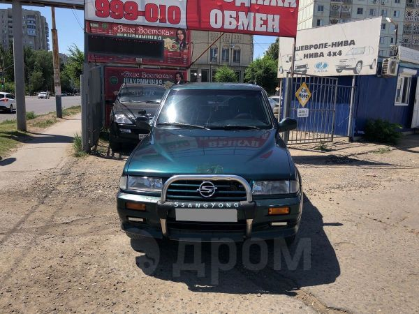 SsangYong Musso, 1998 год, 157 000 руб.