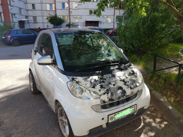 Smart Fortwo, 2008 год, 350 000 руб.