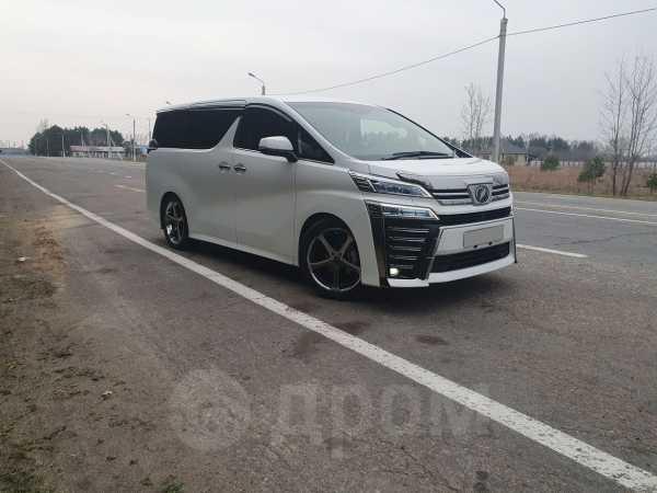 Toyota Vellfire, 2018 год, 3 300 000 руб.