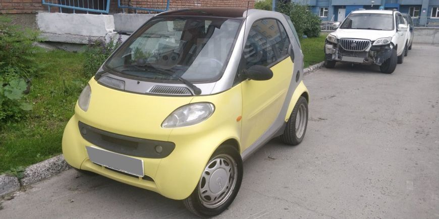 Smart Fortwo, 2000 год, 290 000 руб.