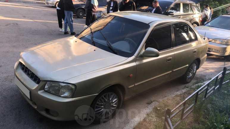 Hyundai Verna, 2000 год, 135 000 руб.