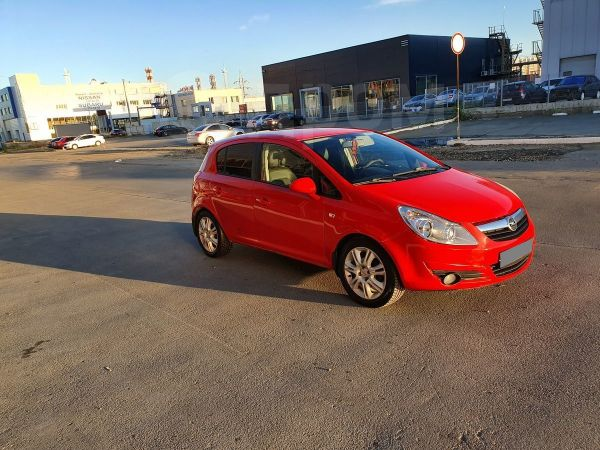 Opel Corsa, 2008 год, 234 000 руб.
