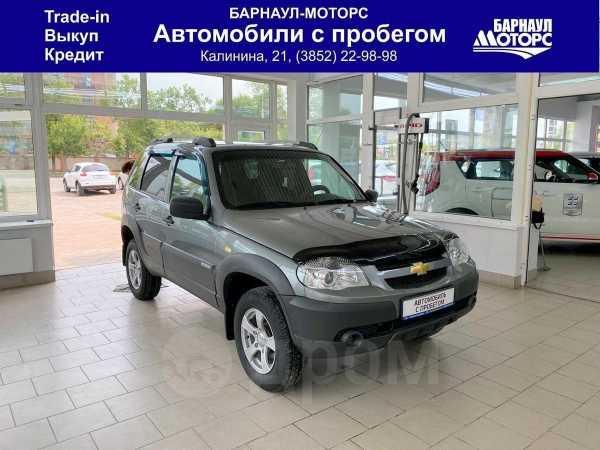 Chevrolet Niva, 2017 год, 548 000 руб.