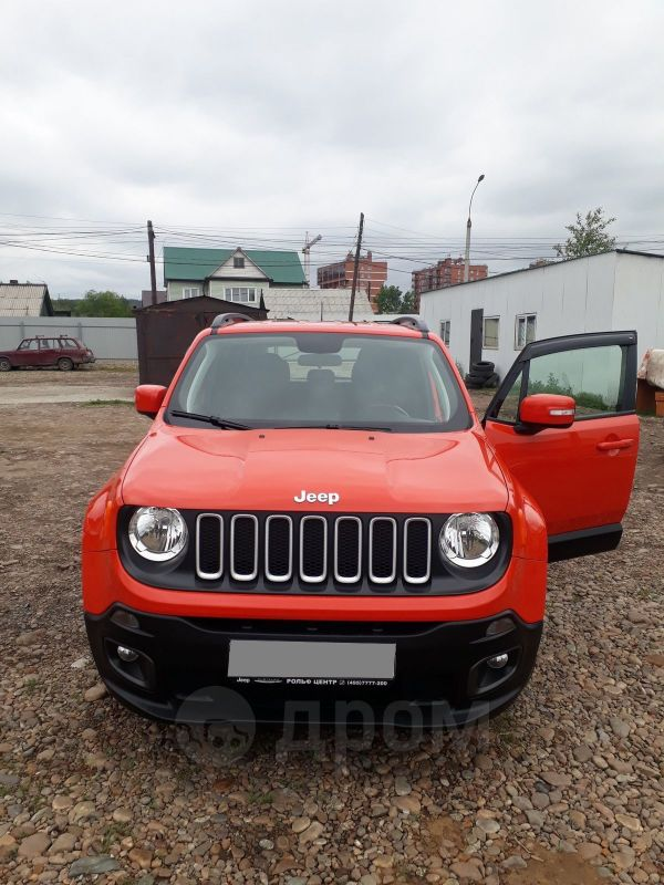 Jeep Renegade, 2018 год, 1 500 000 руб.
