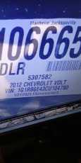 Chevrolet Volt, 2012 год, 1 009 000 руб.