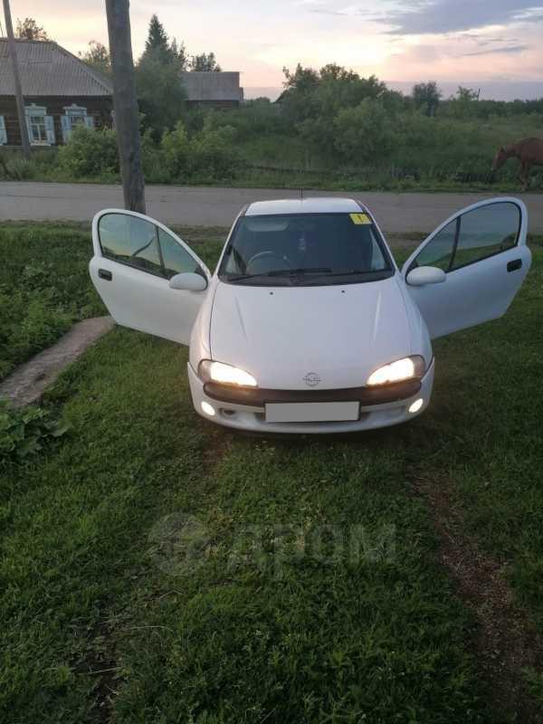 Opel Tigra, 1997 год, 145 000 руб.