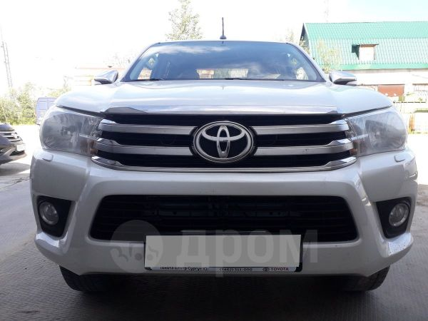 Toyota Hilux Pick Up, 2017 год, 1 800 000 руб.