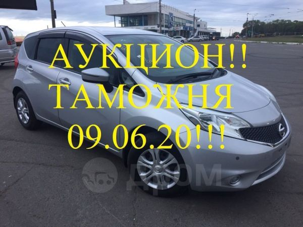 Nissan Note, 2016 год, 505 000 руб.