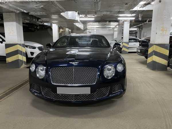 Bentley Continental GT, 2012 год, 4 500 000 руб.