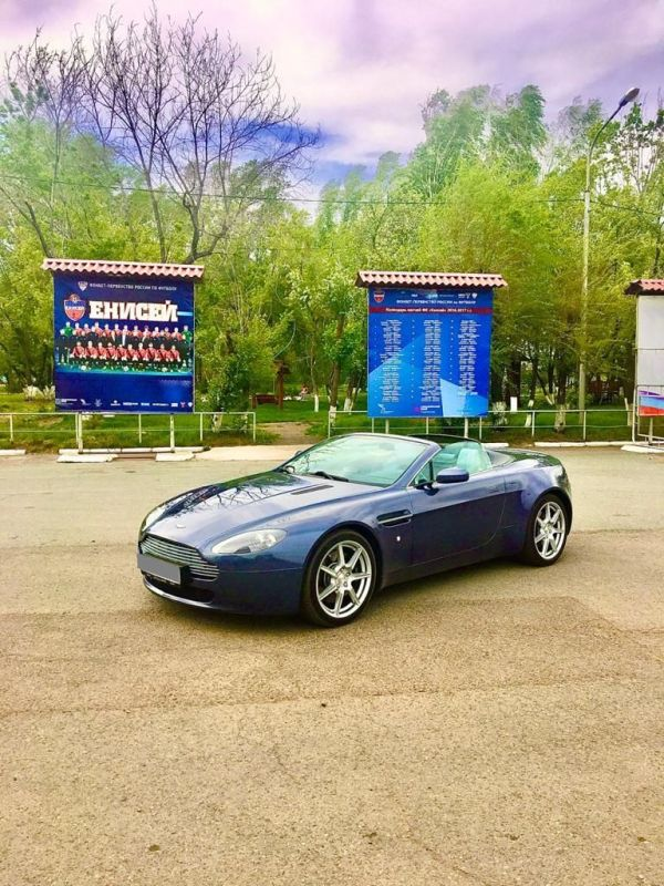 Aston Martin Vantage, 2007 год, 3 700 000 руб.