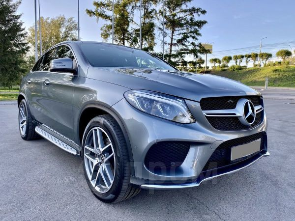 Mercedes-Benz GLE Coupe, 2018 год, 4 550 000 руб.