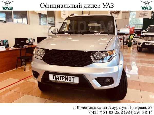 УАЗ Патриот, 2019 год, 1 490 000 руб.