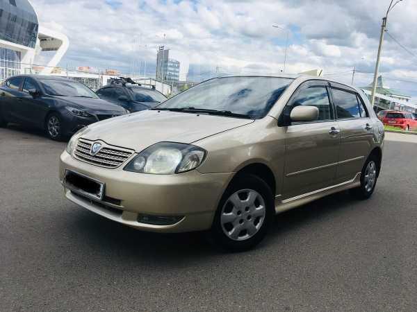 Toyota Allex, 2001 год, 355 000 руб.