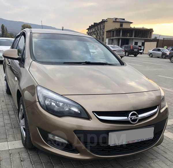 Opel Astra, 2013 год, 490 000 руб.