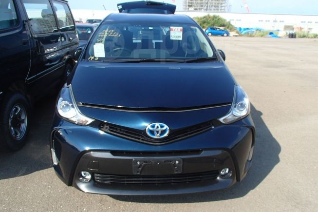 Toyota Prius a, 2017 год, 1 120 000 руб.