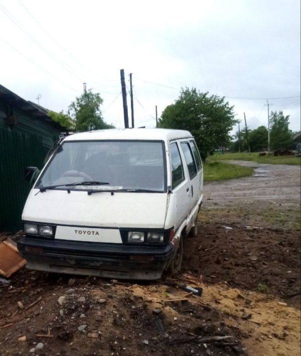 Toyota Master Ace Surf, 1987 год, 40 000 руб.