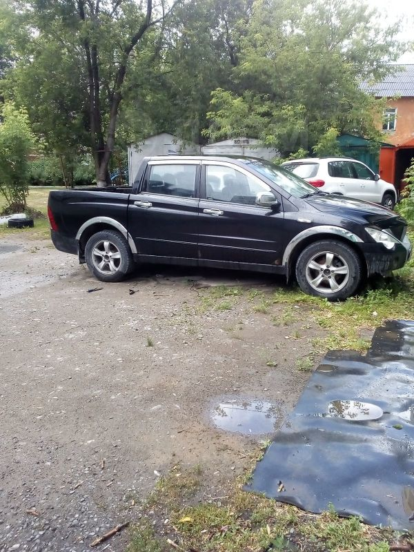 SsangYong Actyon Sports, 2006 год, 250 000 руб.