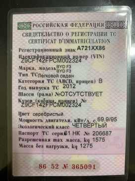 Сургут F3 2012