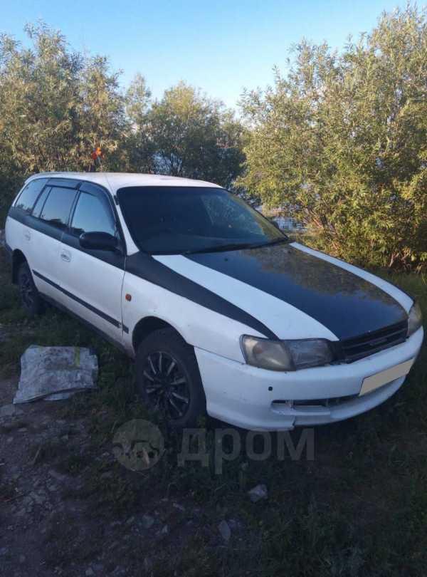 Toyota Caldina, 1995 год, 90 000 руб.