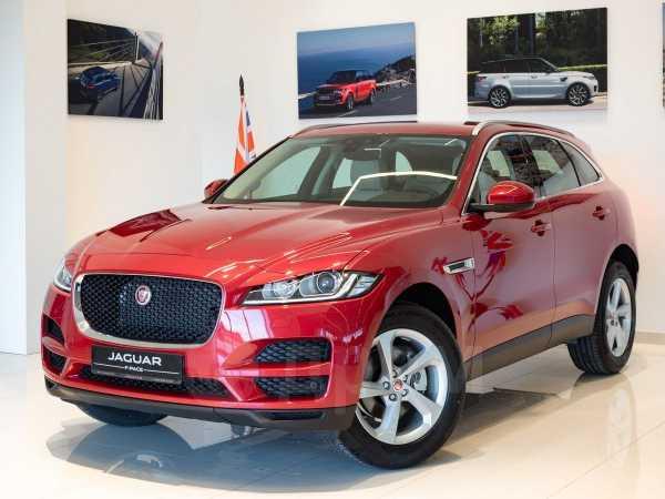Jaguar F-Pace, 2020 год, 3 848 000 руб.