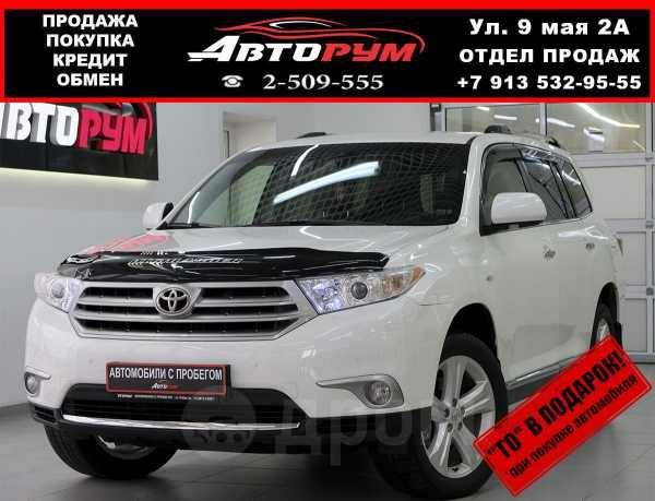 Toyota Highlander, 2012 год, 1 357 000 руб.