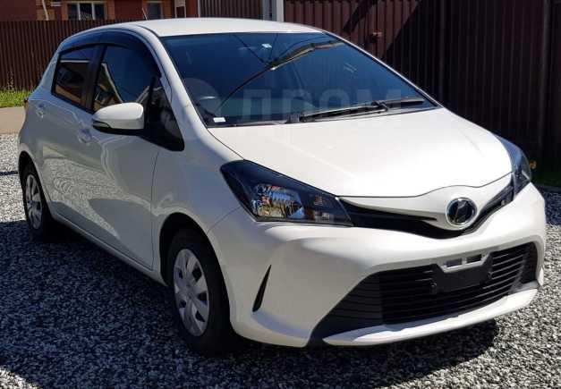 Toyota Vitz, 2016 год, 615 000 руб.