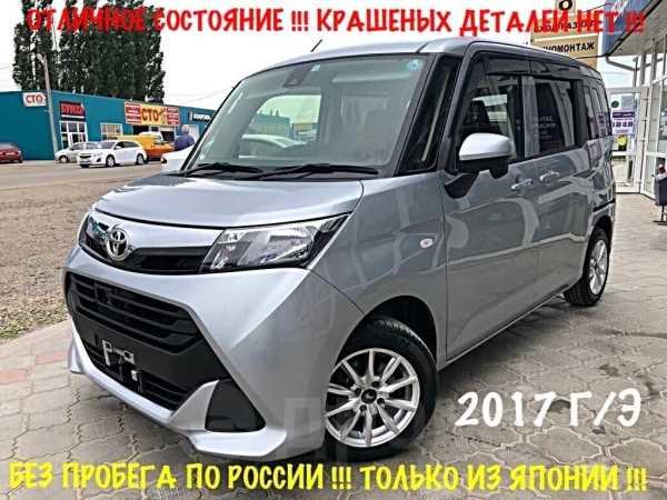 Toyota Tank, 2017 год, 699 000 руб.
