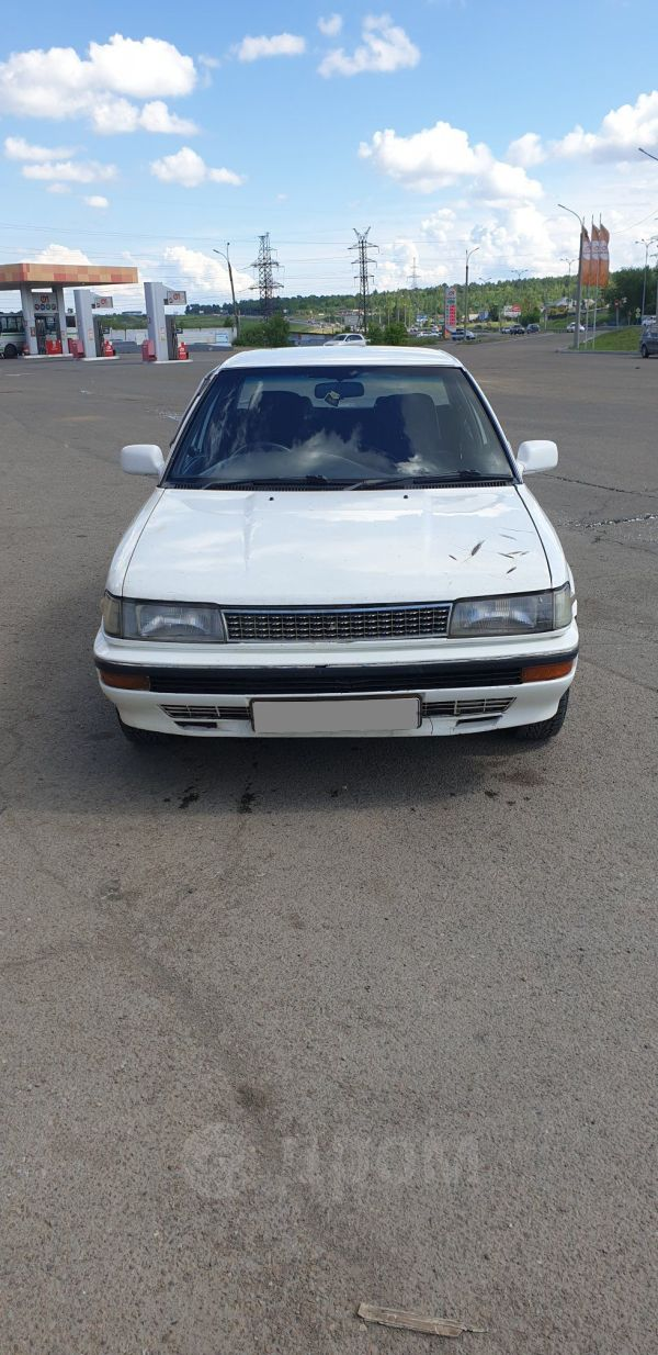 Toyota Corolla, 1989 год, 93 000 руб.