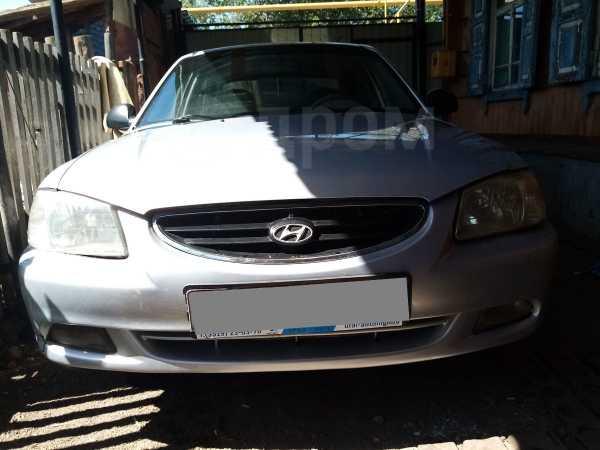 Hyundai Accent, 2008 год, 165 000 руб.