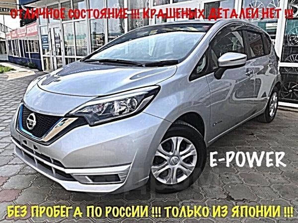 Nissan Note, 2017 год, 829 000 руб.