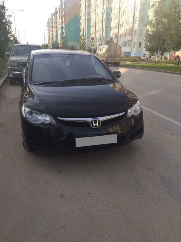 Honda Civic, 2008 год, 380 000 руб.