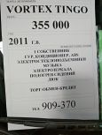 Vortex Tingo, 2011 год, 355 000 руб.