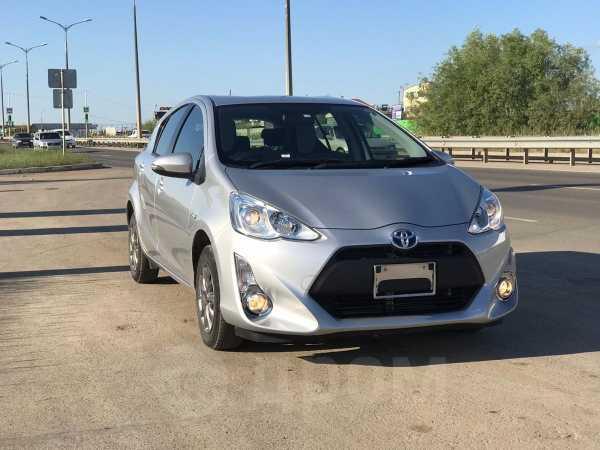Toyota Aqua, 2016 год, 620 000 руб.