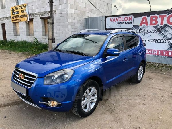 Geely Emgrand X7, 2016 год, 549 000 руб.