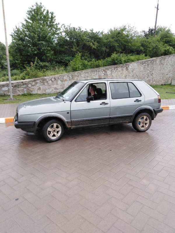 Volkswagen Golf, 1987 год, 110 000 руб.