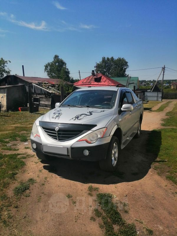 SsangYong Actyon Sports, 2006 год, 320 000 руб.