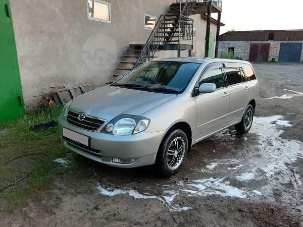 Toyota Corolla Fielder, 2002 год, 395 000 руб.