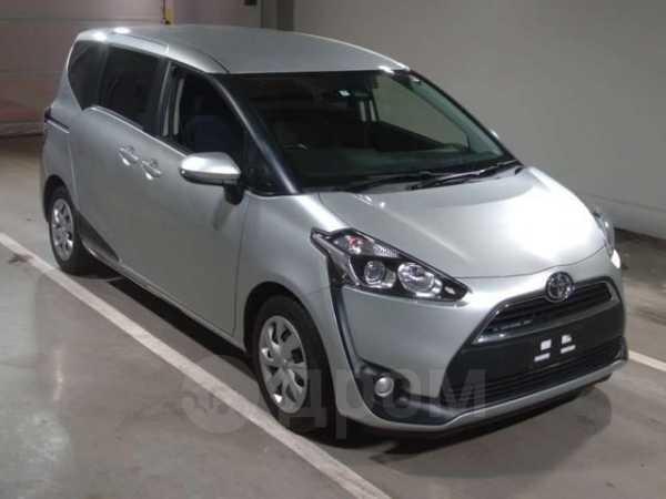 Toyota Sienta, 2017 год, 830 000 руб.