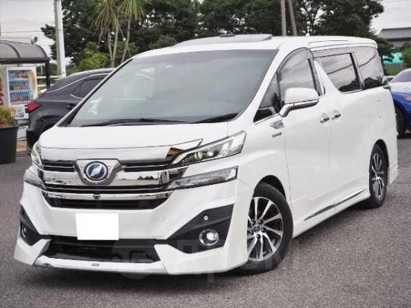 Toyota Vellfire, 2016 год, 1 405 000 руб.