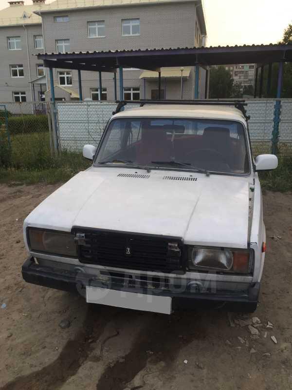 Лада 2107, 1987 год, 9 999 руб.