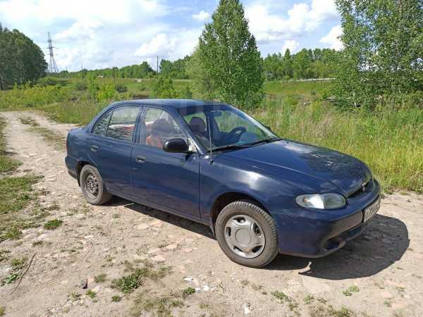 Hyundai Accent, 1997 год, 100 000 руб.