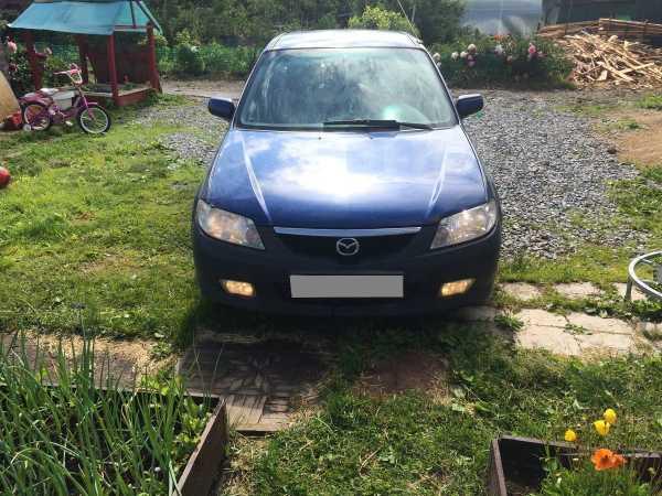 Mazda 323, 2001 год, 115 000 руб.