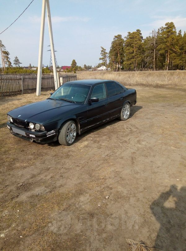 BMW 5-Series, 1994 год, 65 000 руб.