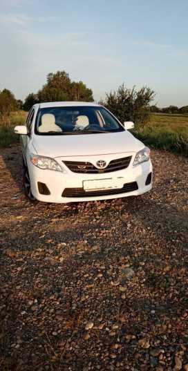 Кошехабль Corolla 2012