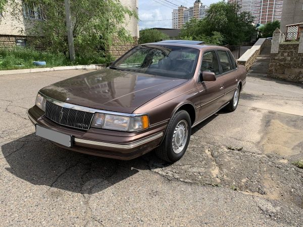 Lincoln Continental, 1992 год, 450 000 руб.