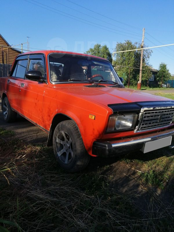 Лада 2107, 1984 год, 83 000 руб.