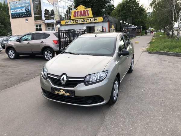 Renault Logan, 2016 год, 547 000 руб.