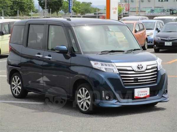 Toyota Roomy, 2017 год, 650 000 руб.