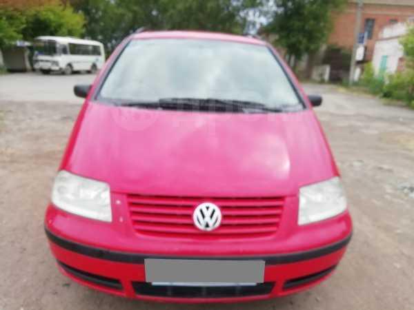 Volkswagen Sharan, 2001 год, 260 000 руб.