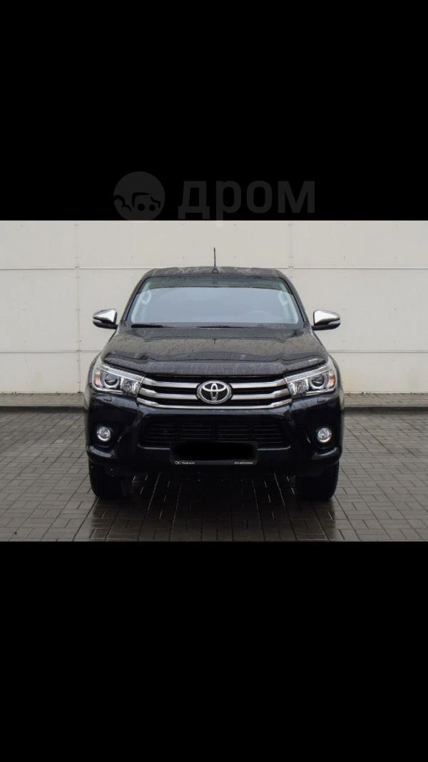 Toyota Hilux Pick Up, 2015 год, 2 500 000 руб.